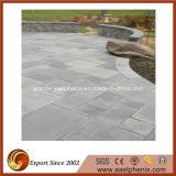 Pietra per lastricati granito beige/grigio/dorato/verde del blocco/cubo/ciottolo/paracarro/basalto per il giardino/mattonelle rustiche esterne