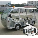 Тележка гибридной шины генератора электрической Sightseeing с шкафом (8-Seater)