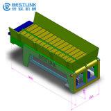 Transporte de correia automático da corrente da movimentação do motor elétrico