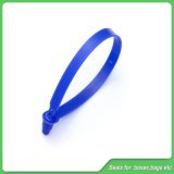 Selo plástico de travamento dobro (JY-250), selo da segurança