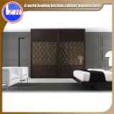 Guardarropa moderno de los muebles del dormitorio del guardarropa de la puerta deslizante (modificado para requisitos particulares)