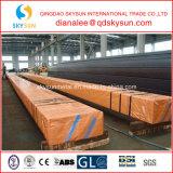 Baustahl-Quadrat-milder Kohlenstoff geschweißtes Stahlrohr