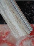 Hohe glatte UVoberfläche Belüftung-Marmorwand
