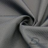 agua de 50d 290t y de la ropa de deportes tela tejida chaqueta al aire libre Viento-Resistente 100% de la pongis del poliester del telar jacquar de la tela escocesa del balompié abajo (53060)