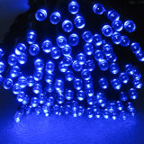 Luz de hadas de la cadena de la Navidad solar del LED con diversos colores