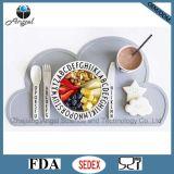 Het Vrije Stootkussen Placemat van de Mat van de Lijst van het Silicone BPA voor de Kinderen van Jonge geitjes Sm08