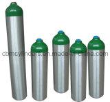 En1975 aluminio 4.6L cilindro de oxígeno (ME-size)