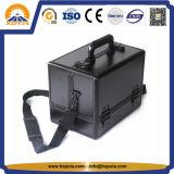 Caso cosmetico di alluminio professionale con i cassetti (HB-2008)