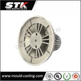 Aluminiumlampen-Deckel vorbei Druckguß (STK-AL-1004)