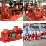 UL/FM de vermelde Pomp Met motor van het Diesel Water van de Brandbestrijding Centrifugaal