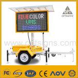 Remorque d'écran couleur de signes de VMs d'énergie solaire