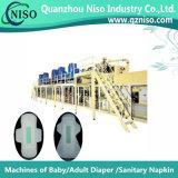 Machine de fabrication de panneaux sanitaires à système de contrôle intégral stable avec Ce (HY800-SV)