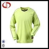 Chemises habillées personnalisées en uniforme de foot Maillot de gardien de but