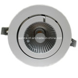 Indoor Decoration (S-D0036)를 위한 12W-35W Aluminium Downlight COB LED Spot Light