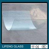 固体構造およびカーブの形によって強くされるガラス