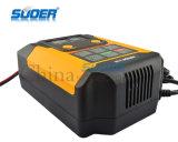 Suoer 지적인 수선 최빈값 12V/24V 2A/4A/6.9A 디지털 표시 장치 자동적인 배터리 충전기 (A02-1224B)