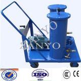Equipo portable de la purificación de petróleo hidráulico