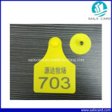 Animal Managementのための78*58mmレーザーPrinting Cattle Ear Tag