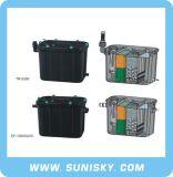 Contenitore di filtrante del gocciolamento del filtro dall'acquario con UV