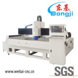 Máquina de moedura de vidro 3-Axis horizontal da borda do CNC para o vidro eletrônico