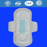 女性Menstrualパッド(J400)のための陰イオンの衛生パッドが付いているOverlengthの生理用ナプキン