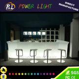 빛을내는 다채로운 플라스틱 바 가구 LED 바 단위
