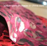 100%Polyester que pulveriza reunindo a tela feita malha para projetos ajustados do sofá