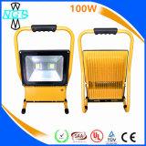 긴 노동 시간 10W 12V LED 재충전용 휴대용 플러드 빛