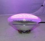 두꺼운 유리 LED 수중 수영풀 빛
