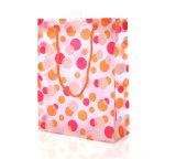 Bolso de compras plástico con talla e insignia de encargo