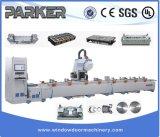 Gordijngevel 4 van de Deur van het Venster van het aluminium CNC van de As het Centrum van de Verwerking