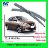 日産Almera 2012年の車のための風のディフレクター