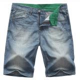 Джинсовая ткань Mens фабрики замыкает накоротко кальсоны джинсыов лета короткие