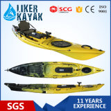 Sand Black Color Fishing Kayak의 Deluxe Seat&Trolley를 가진 2015년 낚시꾼 Kayak