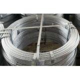 亜鉛上塗を施してある鋼線の繊維