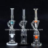 Amerikanische Farben-Miniform-Glaswasser-Rohr für das Rauchen