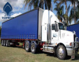 Geteerde zeildoek van de Stoffen van de Prijs van de fabriek het pvc Met een laag bedekte voor de Dekking van de Vrachtwagen