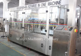 Lavándose, llenando, máquina de rellenar del jugo que capsula 3in1