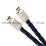 Heet verkoop de Vlakke Kabel HDMI Van uitstekende kwaliteit van het Metaal op TV 2016