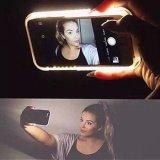 Caisse différente de téléphone de couleur avec l'éclairage LED blanc pour iPhone5S/I6/6plus