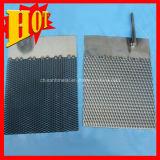 Anodo di titanio platinato della maglia ricoperto iridio del rutenio