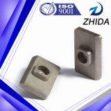 O ferro Especial-Shaped baseou a bucha da maquinaria com certificado do ISO