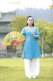 Ropa china del ocio de Han del resorte de la ji del Tai del Taoism y del lino de alto grado del verano