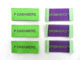 Verde personalizzato tessuto / stampa / Etichetta PVC per Abbigliamento