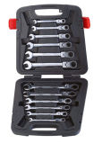 12PCS Stable Gear Wrench Set dans Plastic Box (FY1012B3)