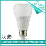 Bulbo 6500k del globo del brillo A60 10W 12W LED