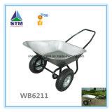 Wheelbarrow dobro resistente da roda do projeto novo