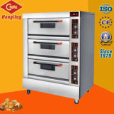 3-dek 6-dienblad Standard Electric Oven Pizza Oven (Ce)