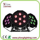 Heißer verkaufen7pcs RGBA Plastikgehäuse Mini10w LED NENNWERT