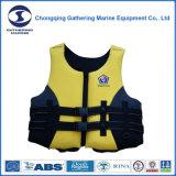 A aprovaçã0 de CCS/Ec ostenta o colete salva-vidas